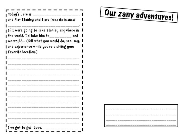 Best Flat Stanley Images On   Travel Journals Flat