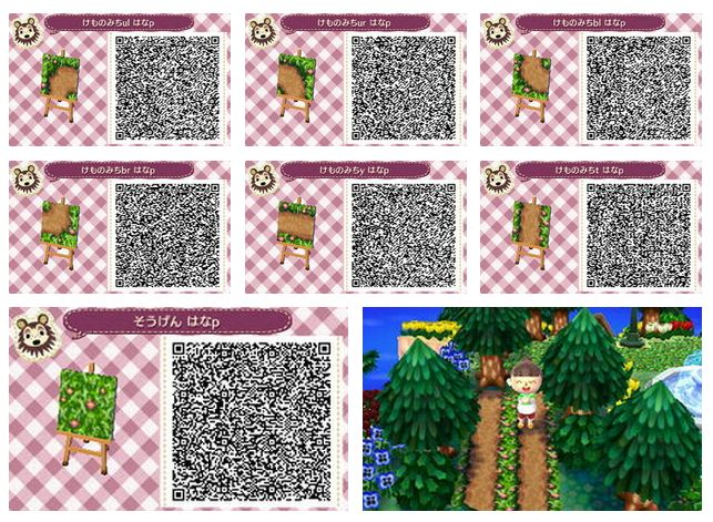 Animal Crossing Paths And Qr Codes On Pinterest