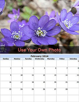 Make Free Photo Calendar 2015 - Create your own Photo Calendars