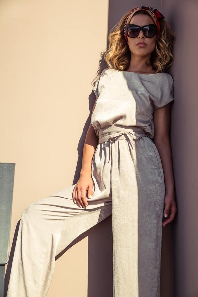 The Silver Jumpsuit!!