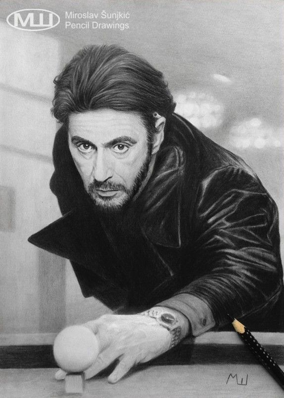 Al Pacino as Carlito Brigante in Carlito's Way by Miroslav Sunjkic the Pencil Maestro #alpacino #carlito #carlitosway #pencil #drawing #sketch #realistic #artwork #pencilmaestro