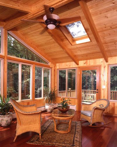 71 best images about our log home sunroom on pinterest for Log cabin sunroom additions