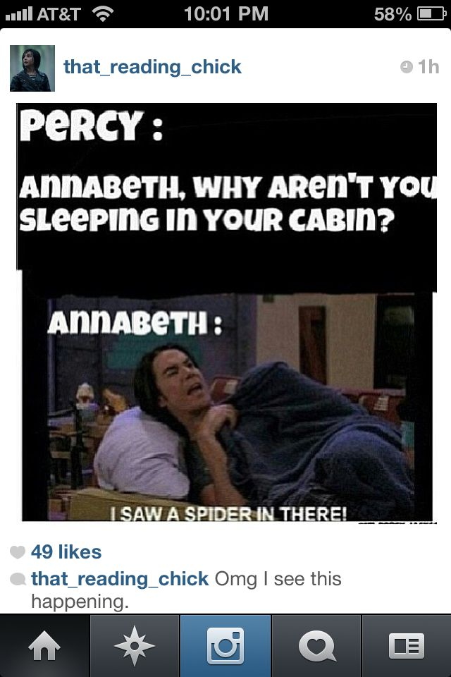 If this happened, the entire Athena cabin would be outside #PJO<< With torches ready to burn it down
