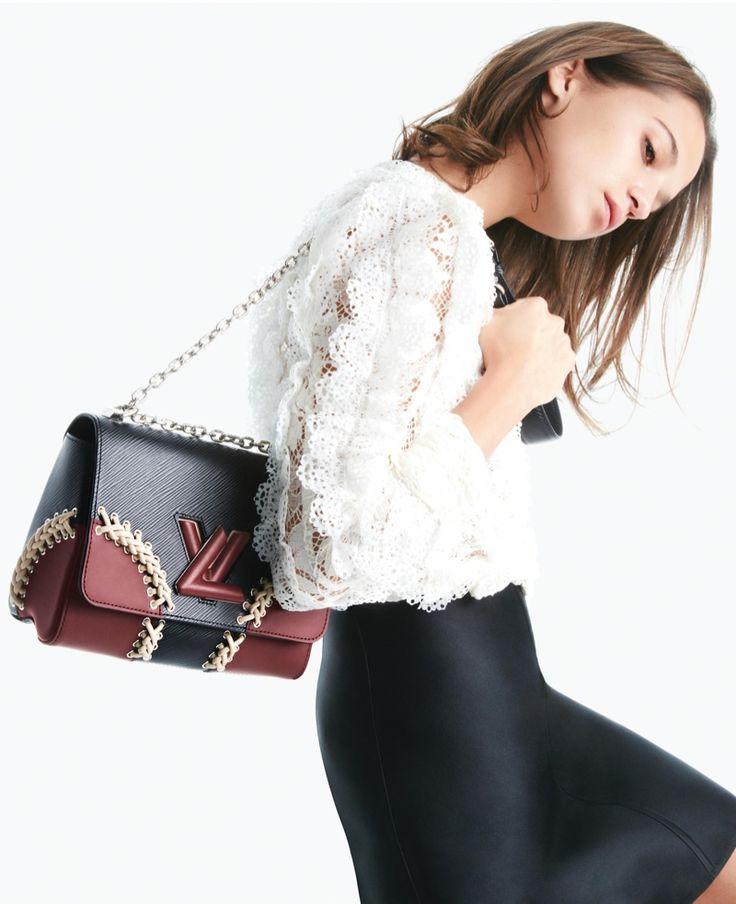 Louis Vuitton Twist handbag campaign - Alicia Vikander
