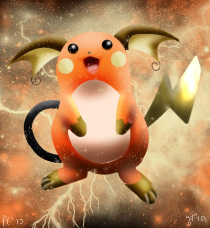 Shiny Raichu by Joana-the-Raichu on DeviantArt