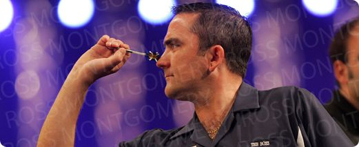 """Ross """"The Boss"""" Montgomery signs for another 3 years with Red Dragon Darts  Ross Montgomery, The 2014 Dutch Open Champion and World Trophy Finalist  announced his commitment to stay with Red Dragon Darts for a further 3 years this week."""