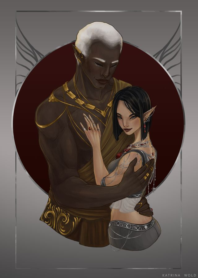 Varian and Amren, mother's tits! this is stunning!