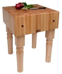 John Boos butcher block...  love john boos cutting boards and butcher blocks...  pricey  but  the best....