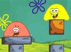Spongebob e Patrick sono stati trasformati in gelatina e hanno difficoltà a raggiungere la piattaforma. Chiedono il tuo aiuto ma sii prudente e fai attenzione a non farli cadere negli abissi!