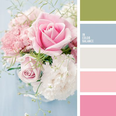 Beautiful spring wedding colors green pale blue and for Beautiful pastel colors