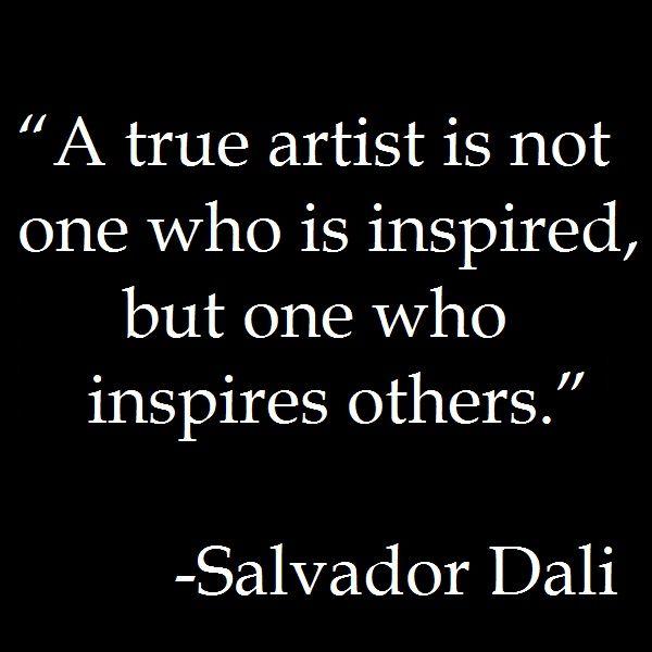 Art Quotes: By Salvador Dali Quotes. QuotesGram