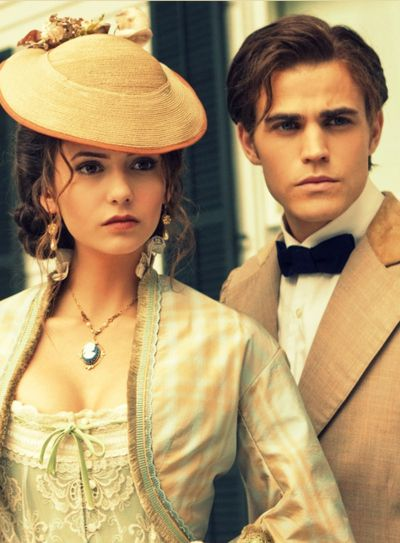 1800's vampires | Katherine and Stephan 1800's - The Vampire Diaries Picture