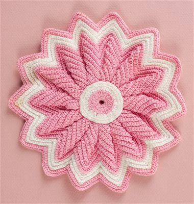 Cute #crochet potholder ina  lovely roundup of #vintage decorative potholders by @Libby Bays