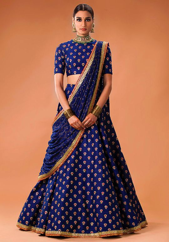 Sabyasachi Mukherjee Heritage Bridal 2016 | The Royal blue for royal you | Best of India's Fashion
