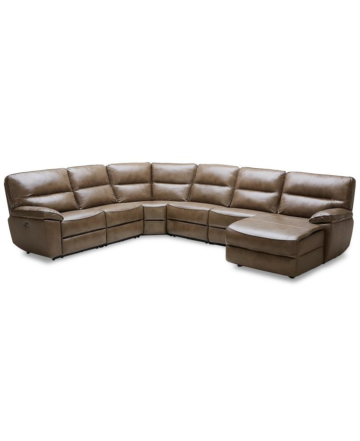 Kory 6 Piece Power Motion Chaise Sectional With 2