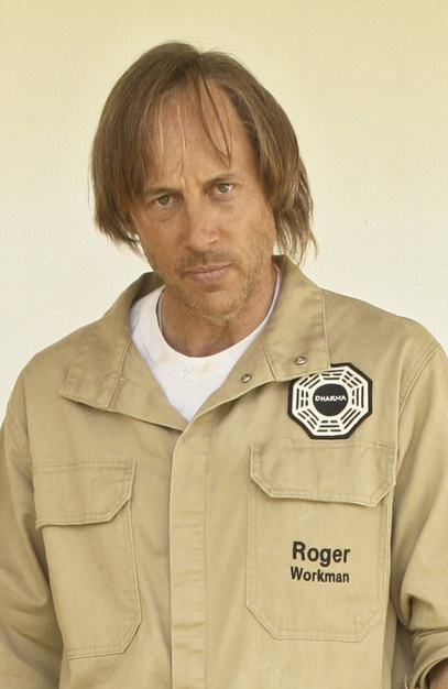 Roger Linus, or as Sawyer said, Roger Workman...lol!  Janitor for The Dharma Initiative n Ben's father.