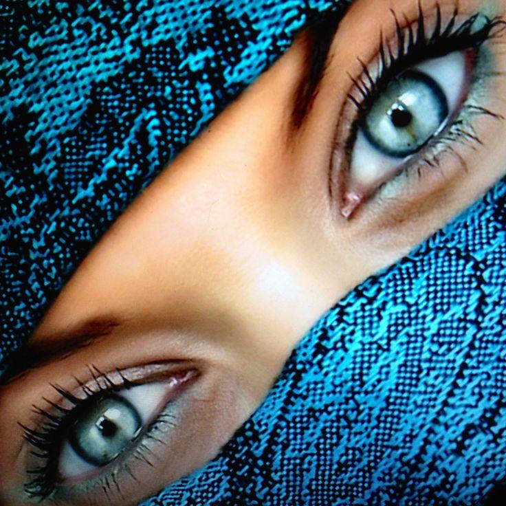 Geheimnisvolle Augen.
