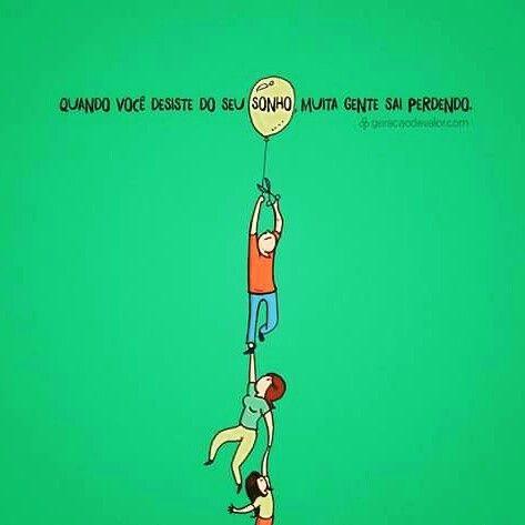 Não mate seu sonho
