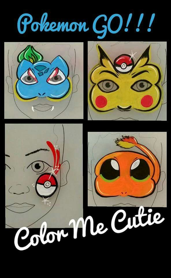 Pokémon Go! Pikachu, Bulbasaur, Charnander