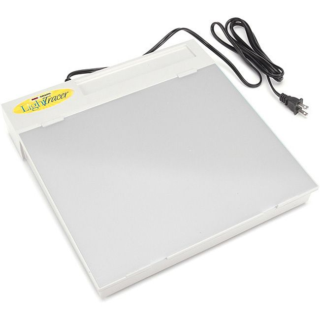 Add to your scrapbooking supplies with this LightTracer light box. LightTracer light box has a 10 x 12-inch opaque screen and lightweight plastic frame. Arts and crafts accessory is a great gift for that scrapbooker in your life.