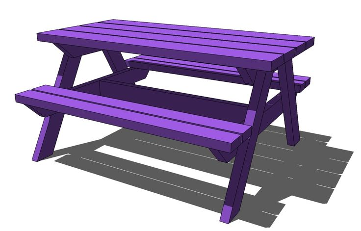 ... Picnic Tables on Pinterest | Picnic Tables, Pallets and Diy Pallet