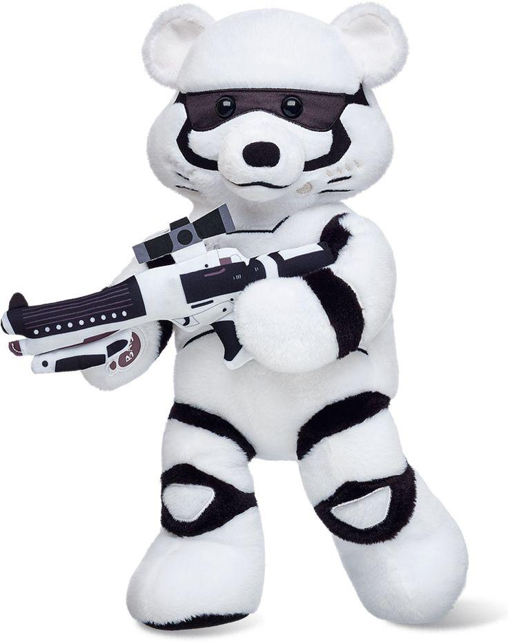 Star Wars Build A Bear Stormtrooper