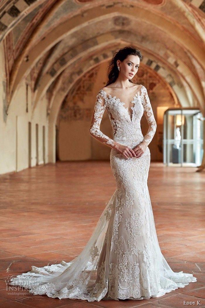 Vestidos de noiva 2017 - corte sereia                                                                                                                                                                                 Mais