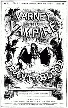 Varney the Vampire, Penny Dreadful, 1845