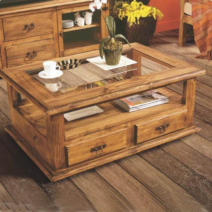 M s de 25 ideas incre bles sobre mesas de centro rusticas for Mesas jardin madera baratas