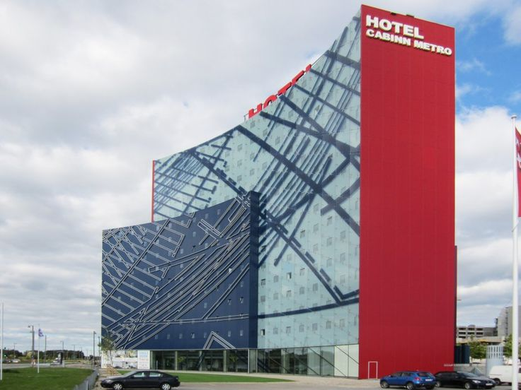Studio Daniel Libeskind Cabinn Metro Hotel Copenhagen