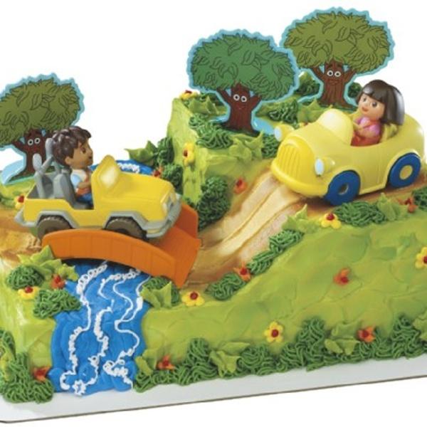 Dora The Explorer Cake Decorating Kit