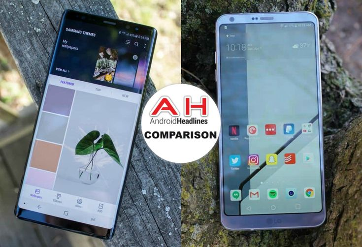 Phone Comparisons: Samsung Galaxy Note 8 vs LG G6 #Android #Google #news