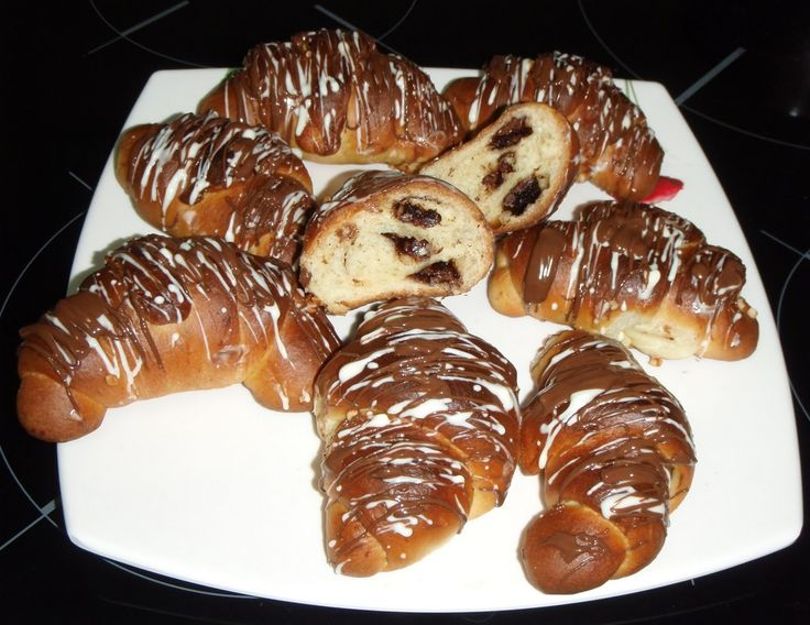 retete-ina: cornuri cu ciocolata