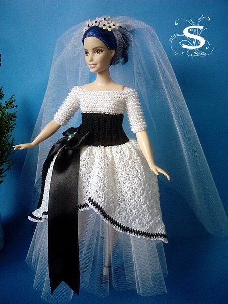 1312 besten Barbie wedding Bilder auf Pinterest | Häkeln ...