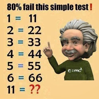 Simple IQ Test...121???<<<<< it's so easy omg