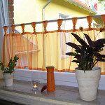 Vitrázs függöny a konyhában – egy klasszikus megoldás! – 1. rész.