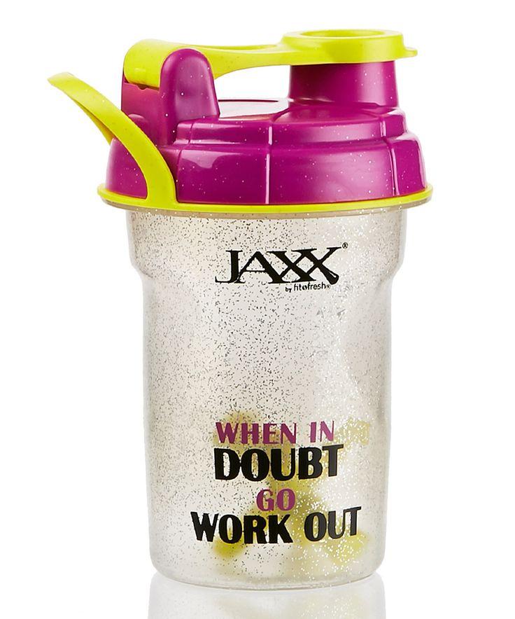 Look at this #zulilyfind! Jaxx 'When in Doubt' 20-Oz. Shaker Bottle by Fit&Fresh #zulilyfinds