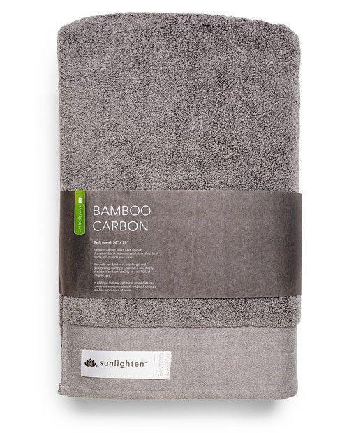 Bamboo Carbon Towel - Large #infraredsauna #towel #homedesign #carbon #bamboo #towels #sauna #sweat