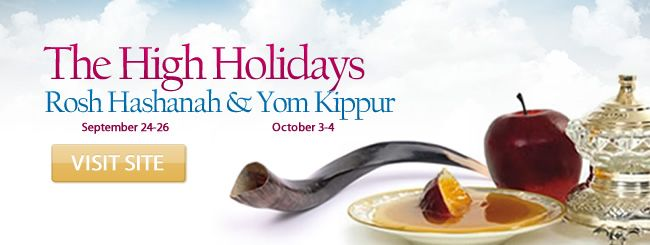 Rosh Hashanah: September 24–26, 2014. Rosh Hashanah is the Jewish New Year. It is the anniversary of the creation of Adam and Eve, and a day of judgment and coronation of G‑d as king.
