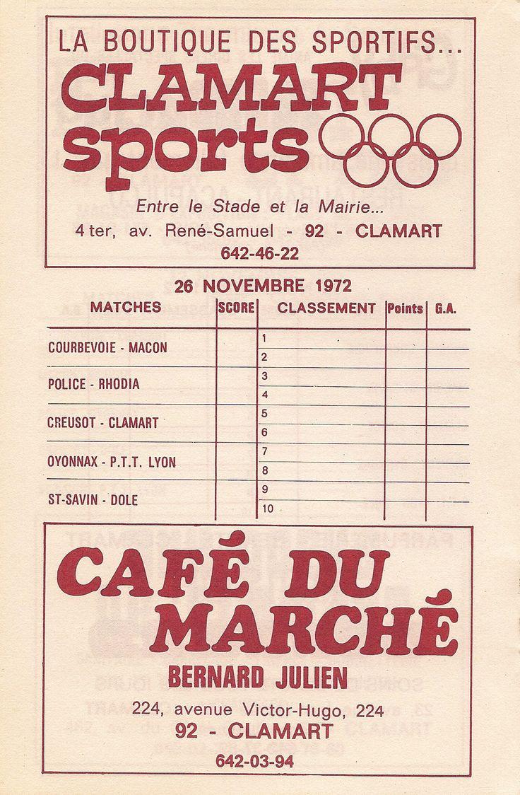 Calendrier 1972-1973 - 2ème Division - Page 12