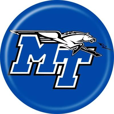 MTSU - Middle Tennessee State University Blue Raiders disc