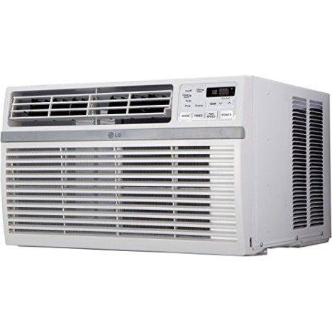 LG Electronics LW8015ER Energy Star 8000 BTU 115-volt Window-Mounted Air Conditioner with Remote Control
