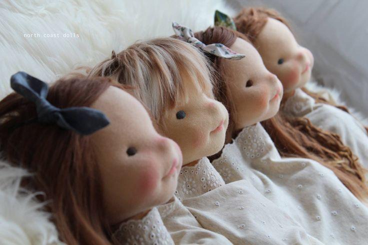 North Coast dolls - cute faces
