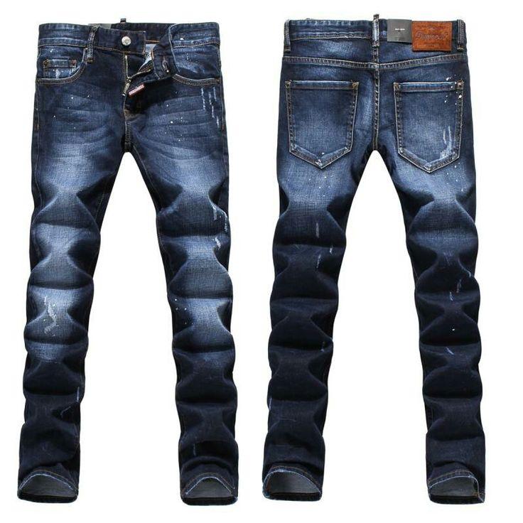 Jeans On Sale, Boyfriend Jean, Denim Blue, Cotton, 2017, 22 24 26 28 30 Dsquared2