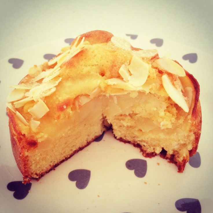 Apple and Almond Tea Cake...two of my favorite flavors!