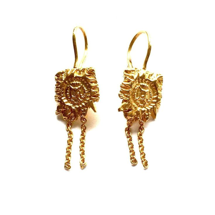 'Dream' earrings. goldpoets.com