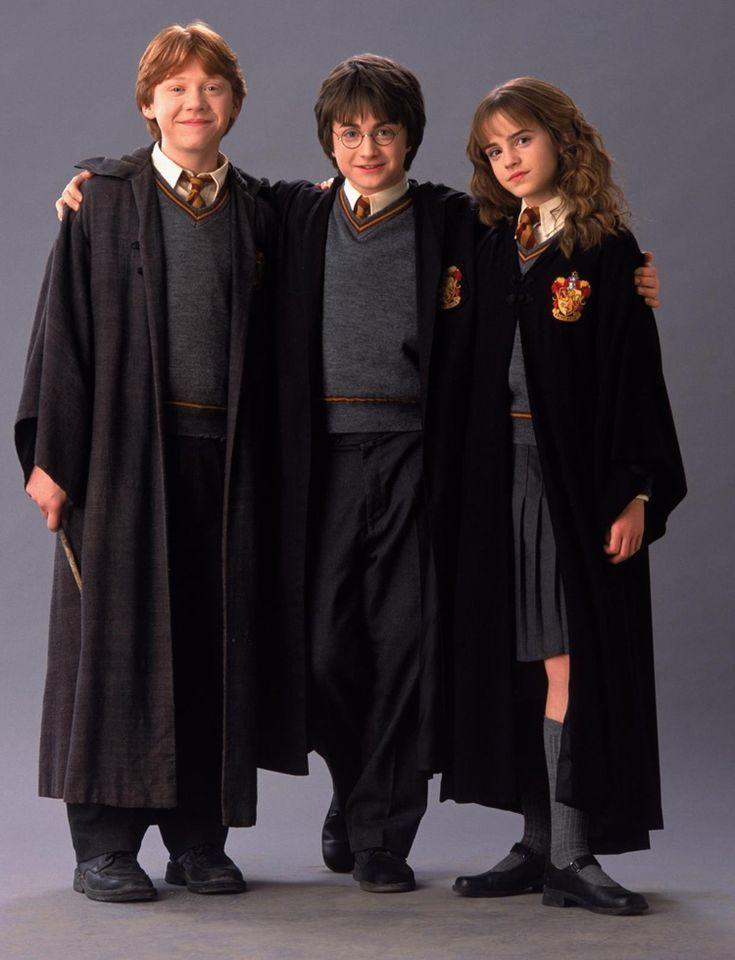 Harry Potter Schwarzer Umhang Gryffindor Fasching Carnival Party Diy Hallowen Harry Potter Cast Hermione Harry Potter Fanlari