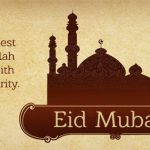 Special Eid Mubarak Wishes For Facebook Cover Photo