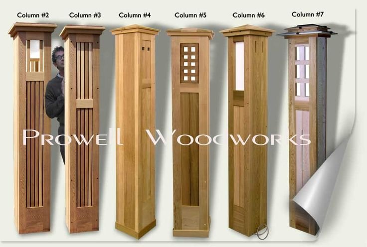 Wooden Pillars Designs : Best images about fence on pinterest arbors