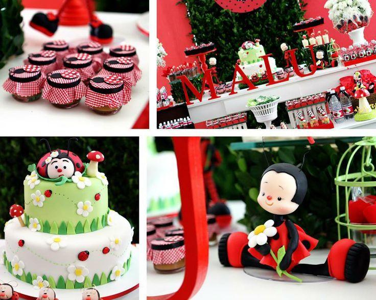 37 best Festa Ladybug images on Pinterest Ladybugs, Lady bug and